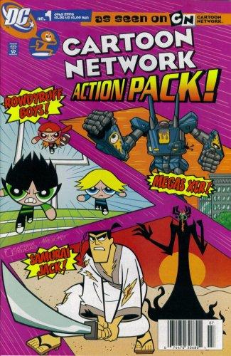 Cartoon Network Action Pack! #1 July 2006 (Samurai Jack, Megas XLR, & Rowdyruff Boys DC Comic -