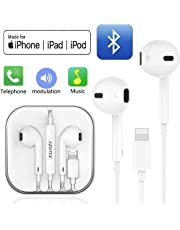 SZHTFX Earphones/Earbuds Wired Headphones Noise Isolating Earphones with Built-in Microphone & Volume Control Compatible with iPhone 8/8 Plus/7/7Plus/X/XS/XR (Wired Headphones)