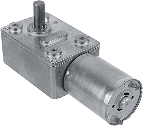 DC 12V Speed Reduction Gear Motor Electric High Torque Metal Gearbox Motor Micro Multiple Models Reducer Replacement Motor for Electronic Lock 12V/60RPM