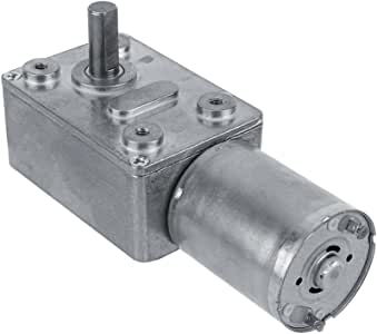 12V 20RPM No-load Speed High Torque Electric Square Gear box Geared Motor