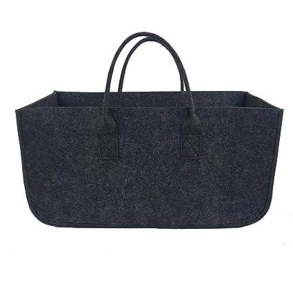52e3b3232c97 Amazon.com: Leegoal Shopping Felt Bag, Soft Durable Large Capacity ...
