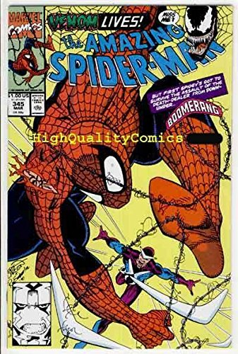 SPIDER-MAN #345, NM, Bagley, 1st Carnage, Amazing, 1963, more ASM in store