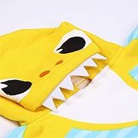 CERDÁ LIFE'S LITTLE MOMENTS-Toalla Poncho Playa Niño de Baby Shark de Microfibra-Licencia Oficial Nickelodeon 2200007331