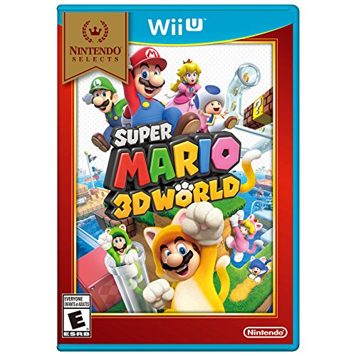 Nintendo Selects: Super Mario 3D World (Mario Wii Games)