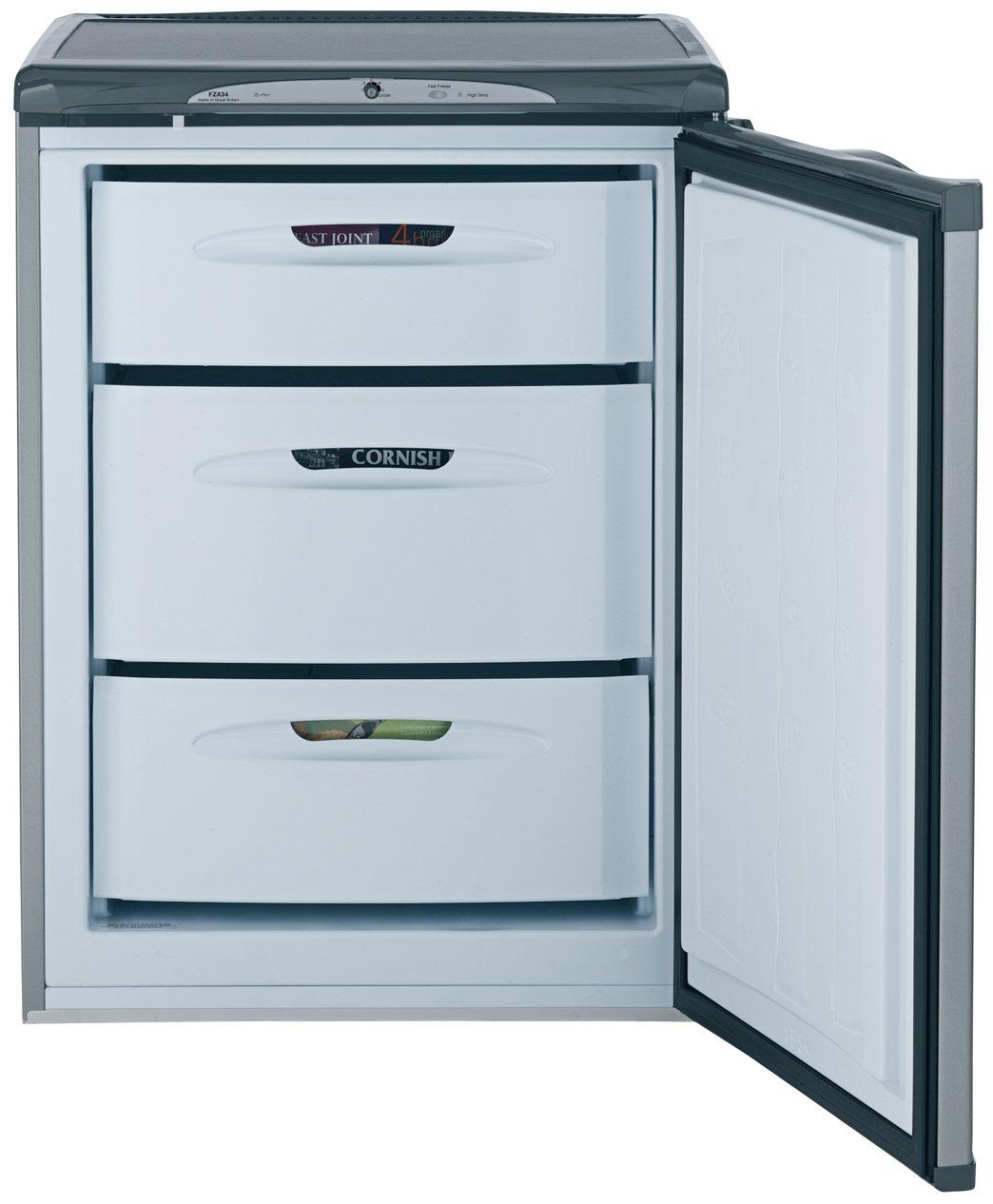 Hotpoint FZA34G - Congelador (Vertical, 78 L, 8 kg/24h, Plata ...