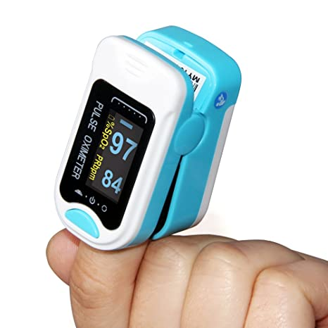 Yashus OLED Fingertip oxymeter PR monitor Blood Oxygen Pulse
