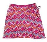 Colorado Clothing Tranquility Girls Sporty Skort (Large (10), Pink Zig Zag)