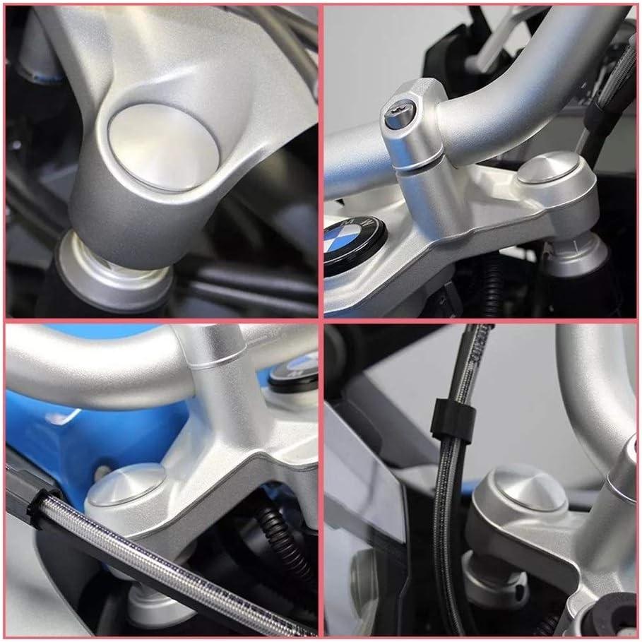 Color : Black MSJFUBANGBM FUBANGBM Motorrad vorne Top Tube Cover-Schutz Set fit for BMW R1200GS Adventure LC R1200 GS R 1200 GS LC 2014-2018 R125GS Adventure 2019 2020