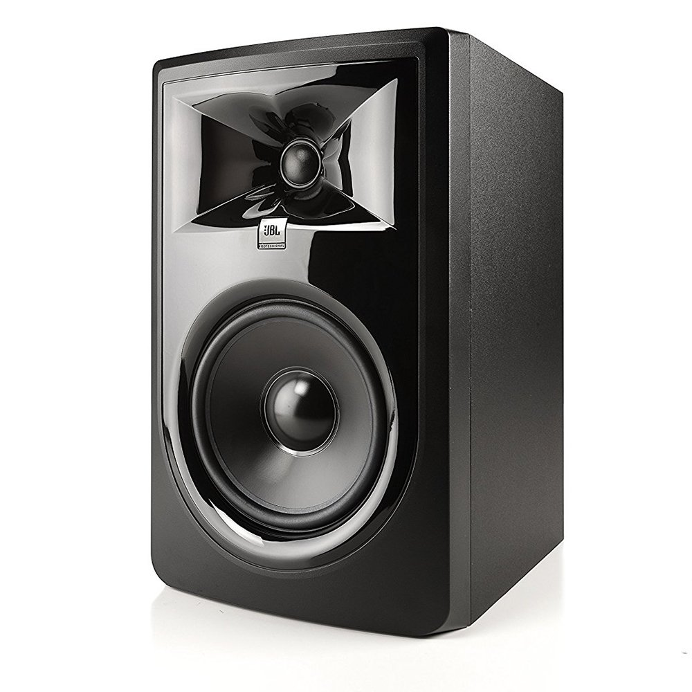 JBL 306P MkII 6.5'' Studio Monitoring Speakers (Pair) w/AxcessAbles Studio Monitor Stands and Studio Cables by JBL Professional (Image #2)
