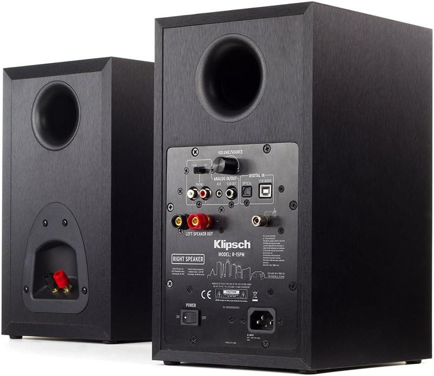 Amazon.com: Klipsch r-15pm Powered Monitor – (2 unidades ...