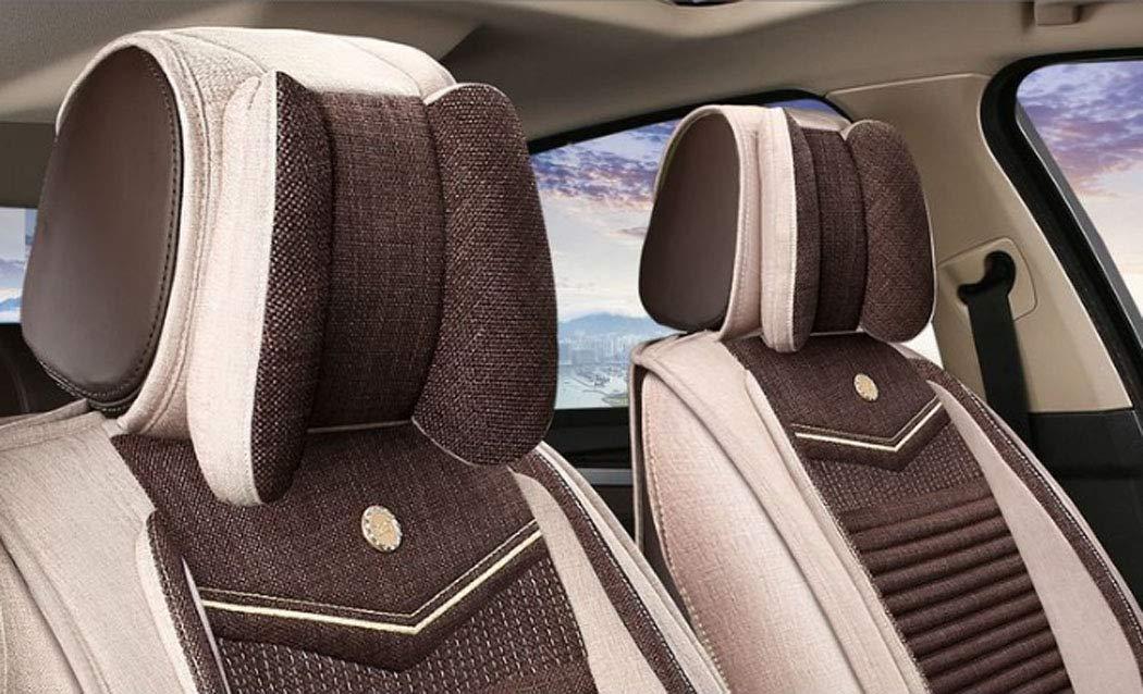 Y&Jack Asiento de automóvil Asiento de automóvil de alforfón cáscara de alforfón Four Seasons - Adecuado para la mayoría de los automóviles de Cinco plazas ...