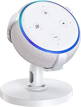 Bovon Mesa Soporte para Echo Dot (3.ª generación), Soporte Dot 3 ...