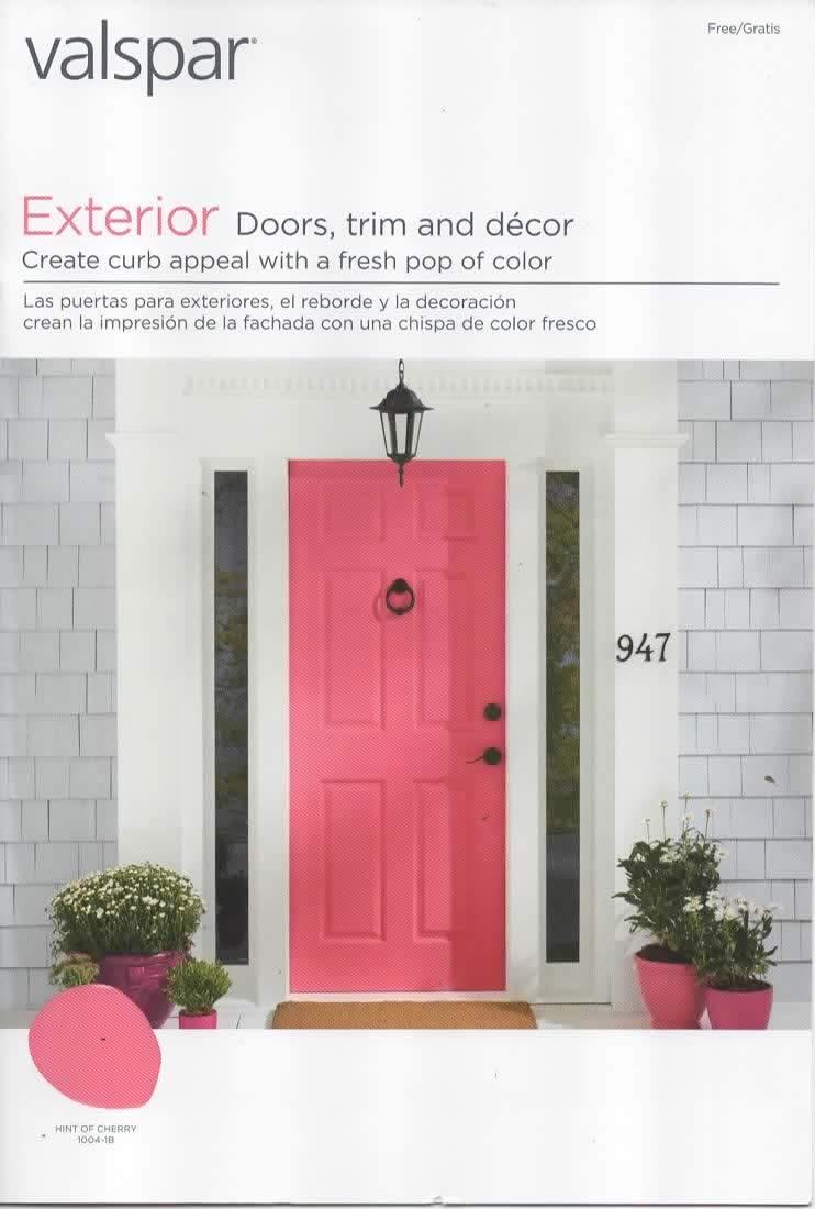 Valspar Paint Catalog Color Chips Samples For Exterior Doors Trim Decor Duramax And Reserve Brand Exterior Paints Valspar Lowes Lf Llc Amazon Com Books