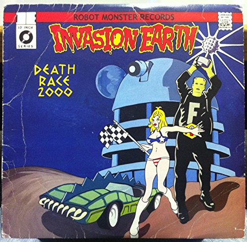 INVASION EARTH DEATH RACE 2000 vinyl record