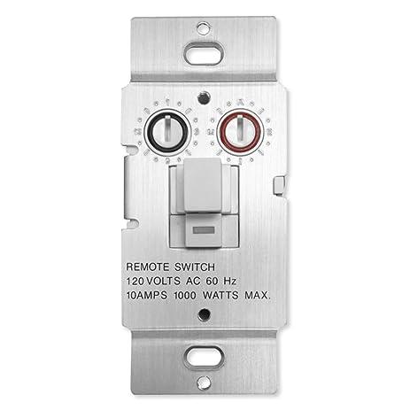 X10 WS469 Push Button Relay Wall Switch Amazoncom