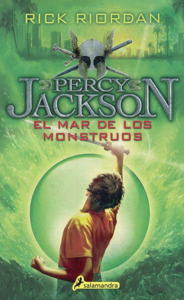 SPA-MAR DE LOS MONSTRUOS THE: 02 Percy Jackson Y Los Dioses Del Olimpo: Amazon.es: Riordan, Rick: Libros