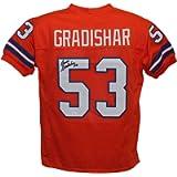 Randy Gradishar Autographed/Signed Denver Broncos Orange XL Jersey JSA