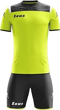 Zeus Kit Vesuvio Futbolín Completo Camiseta y pantalón Deportivo Torneo: Amazon.es: Deportes y aire libre