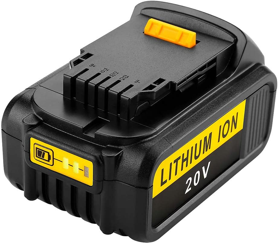 Sxgyubt 20V Li-ion Battery Replacement for Dewalt Power Drill Tool DCB200 DCB180 5000mAh 6000mAh