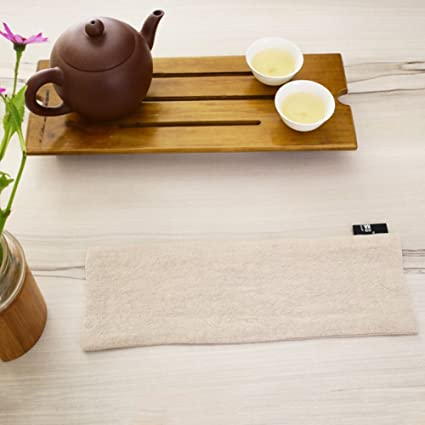 Ramio ceremonia del té japonesa toallas de té/ té de algodón de color sólido/