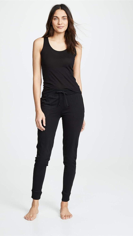 Skin Womens Skinny Pants Black 3