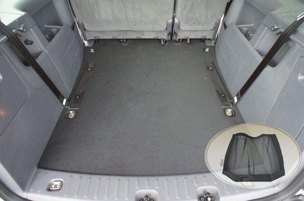 Laderaumwanne, Kofferraummatte Klett-Organizer ZentimeX Z3124741 Gummierte Kofferraumwanne fahrzeugspezifisch