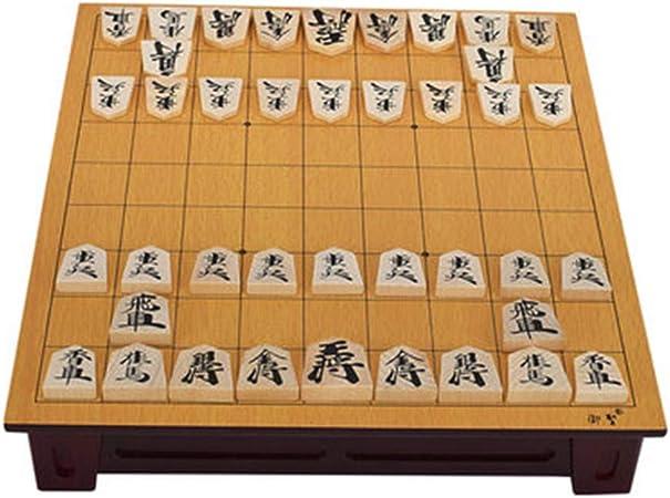 Yzibei Shogi Restaura Las Formas Antiguas Ajedrez de ajedrez con cajón en General Madera Real de Juegos de Mesa educativos Regalo Que da Piezas del Juego Ajedrez Retro Tradicional: Amazon.es: Hogar