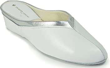 493415ee894 Jacques Levine  4640 Womens Wedge Slipper