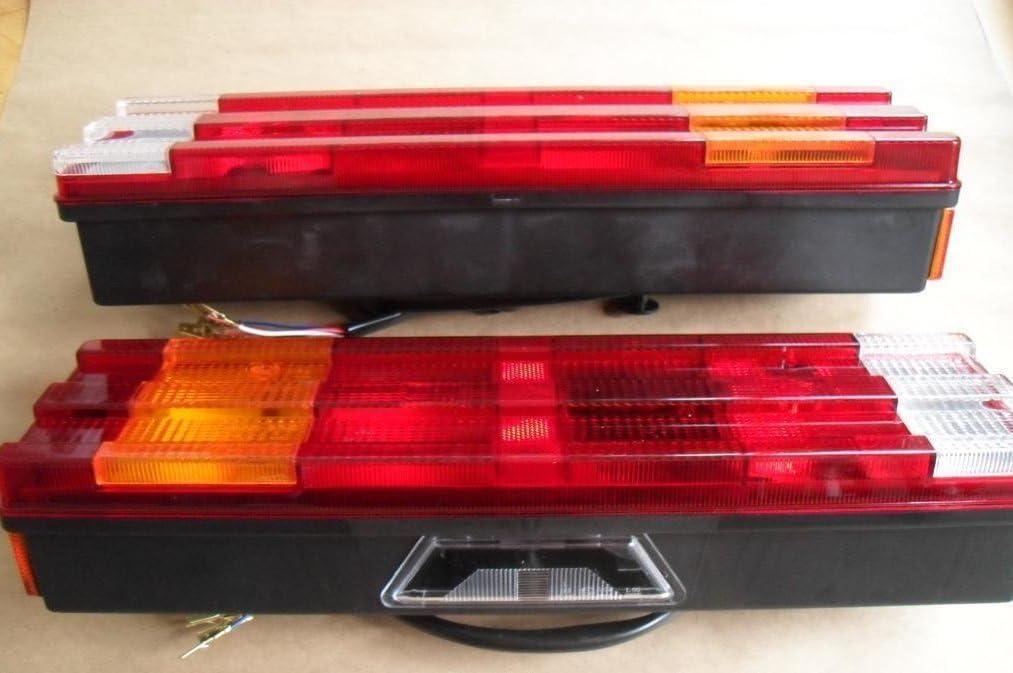 A1 2x RÜcklicht RÜckleuchte Heckleuchte Lkw 12v 24v Siebenkammer Neu Auto