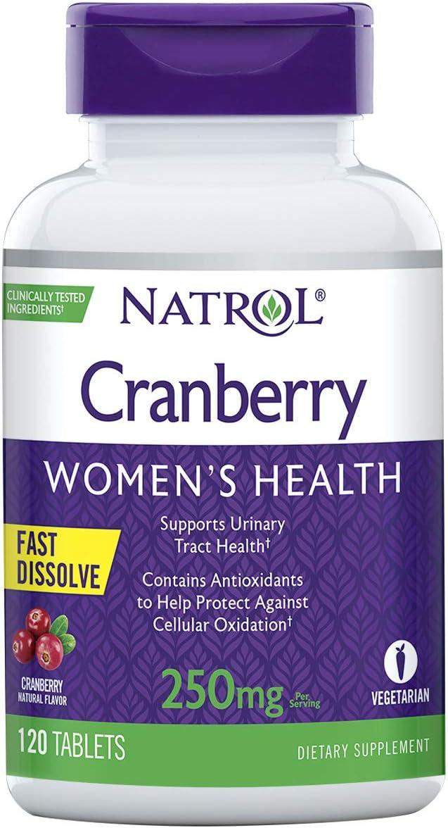 Natrol Cranberry Fast Dissolve Tablet