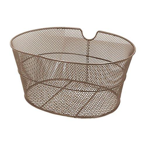 RMS cestino bici ovale marrone in ferro (Cestini Ciclo)/Front oval basket brown color (Bike Basket)