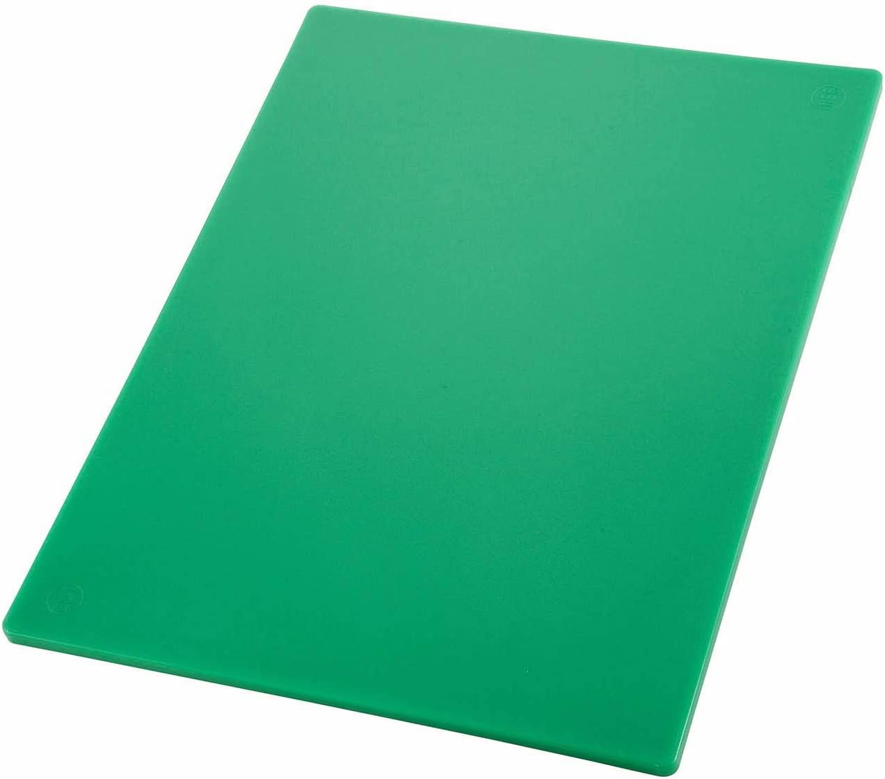 Winco Cutting Board Green 12 by 18 by 1//2-Inch