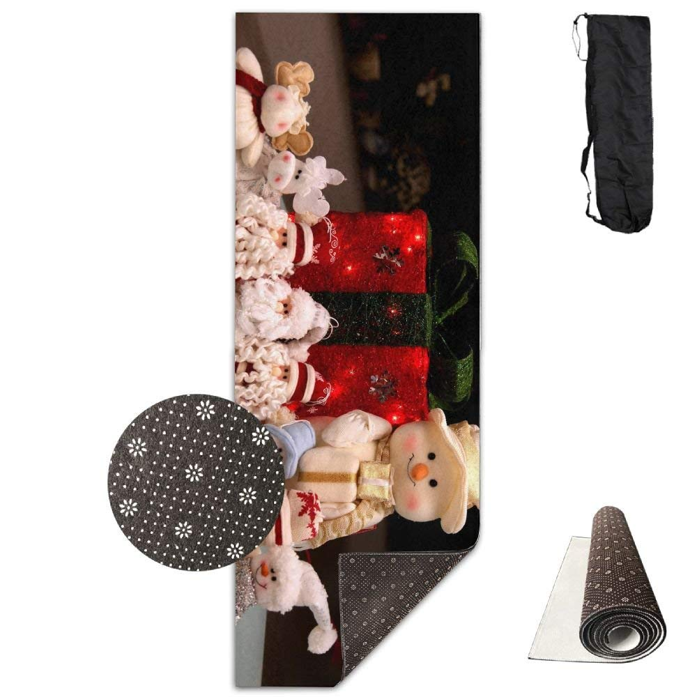 New Year Holiday Christmas Snowmen Santa Claus Gifts Toys ECO Aqua Power Kinematic Iyengar Kundini Hot Pilates Gymnastics Hatha Yoga Mat and Other Mats That Need to Be Performed On The Ground