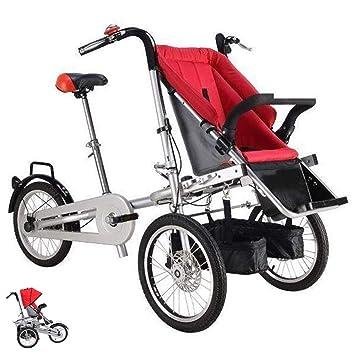 Amazon.com: Bicicleta plegable multifunción para padres e ...