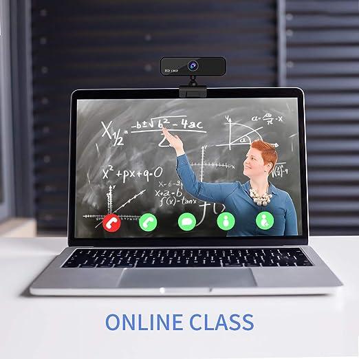 Guo duo - Webcam 1080P HD Pro Stream Video Autofokus Streaming, grabación, Conferencing digital Webkamera vídeo con Mic USB Widescreen para PC, portátiles y Desktop S-Autofokus: Amazon.es: Electrónica
