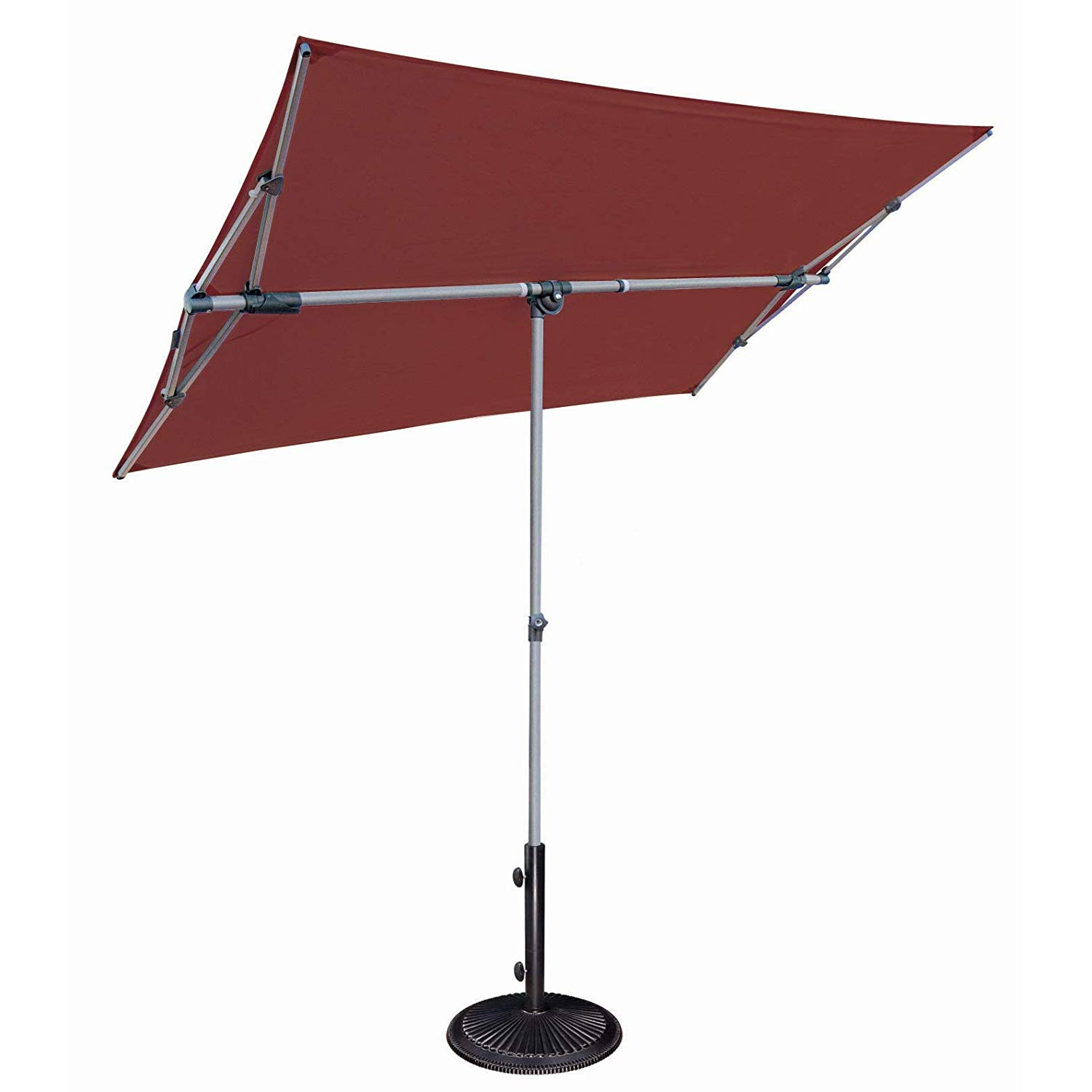 SimplyShade Capri Patio Umbrella in Deep Red