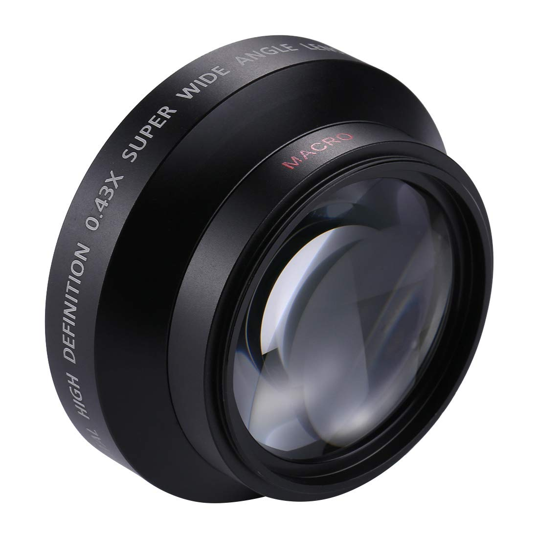 HyxppthiAAccessory Hyx 62mm 0.45X Super Wide Angle Lens with Macro Lens Auxiliary Lens by HyxppthiAAccessory