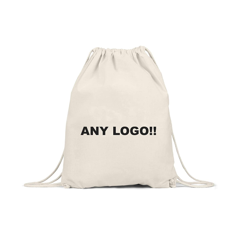 Personalised Photo Kids Gym Bag Drawstring Cotton Sport Vinyl PE Back To School