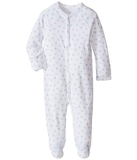 edb85ef67b1e Amazon.com  Ralph Lauren Baby Boys Block-Print Cotton Footed ...