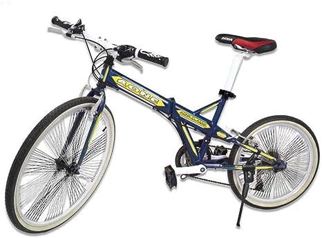 Riscko Bicicleta Plegable Bep-26 Negro: Amazon.es: Deportes y aire ...