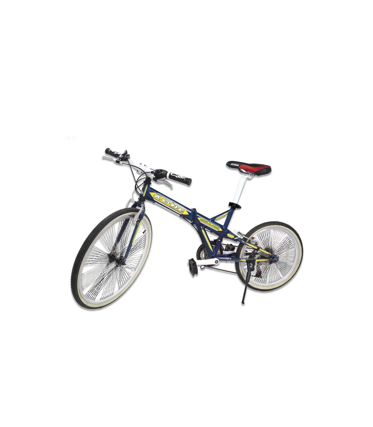 Riscko Bicicleta Plegable Bep-26 Azul: Amazon.es: Deportes y aire ...