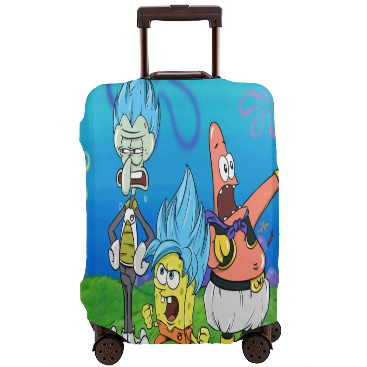 Funda para Equipaje de Viaje, diseño de Bob Esponja de Anime con ...