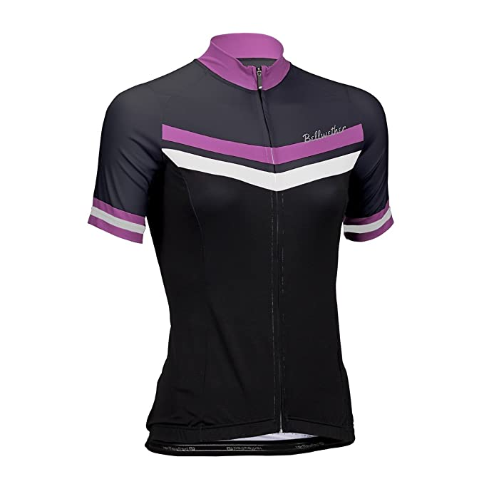 95731785e Amazon.com   Bellwether Women s Venus Jersey - BLACK FUCHSIA