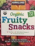 Kirkland Signature/ Organic Fruit Snacks/ 72*0.8 Oz
