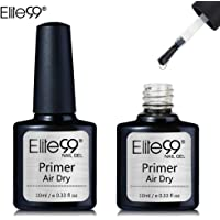 Primer Semi Permanent Elite99 Vernis à Ongles Vernis Semi Permanent UV LED Soak Off Nail Polish Primer Vernis gel aide à coller avec base coat 10ml