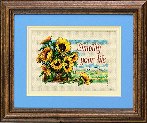Cross Counted Kit Jiffy Stitch (Jiffy Counted Cross Stitch Kit Simplify Your Life)