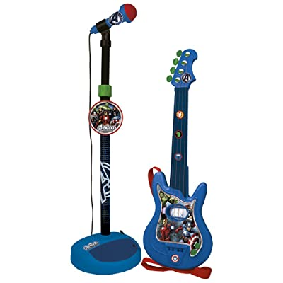 REIG Avengers Assemble Guitar and Microphone Set: Toys & Games