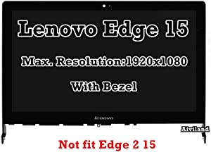 "15.6"" LCD LED Display FHD 1920x1080 IPS Screen Touch Panel Digitizer Assembly Bezel Frame for Lenovo Edge 15 80H1 80K9"