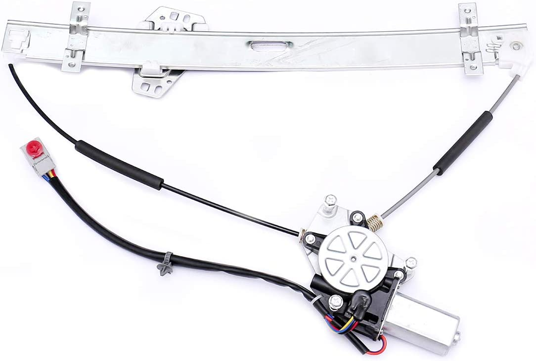HICKS 741-302 Fit Driver Side Power Window Regulator and Motor Assembly for Select Select Honda Models
