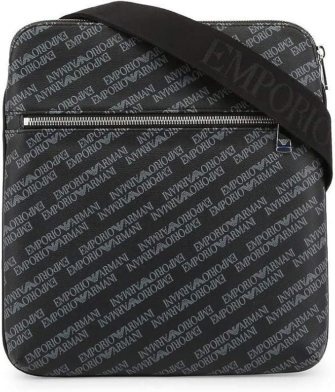 Emporio Armani bolso con bandolera hombre nuevo negro: Amazon.es: Zapatos y complementos